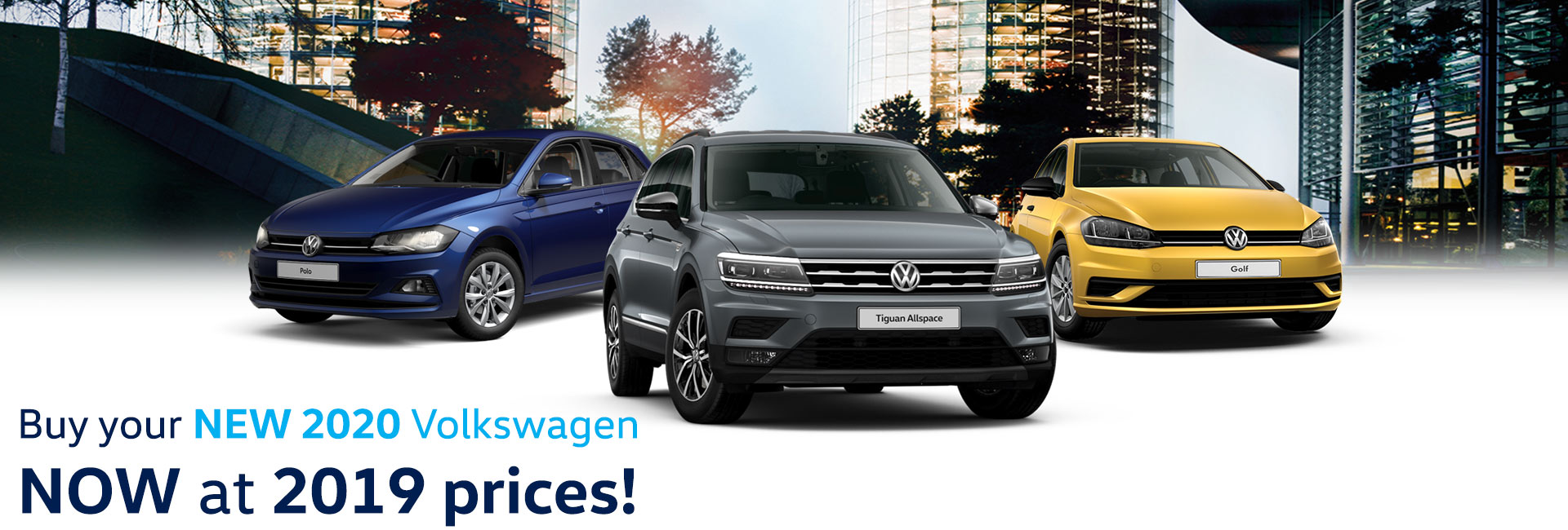 VW's at 2019 Prices
